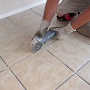 Tile Regrouting