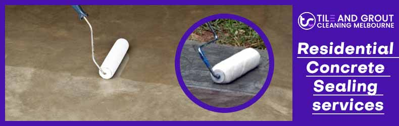 Residential Concrete Sealing Services Melbourne