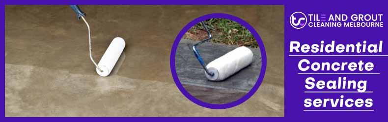 Residential Concrete Sealing Services Melbourne