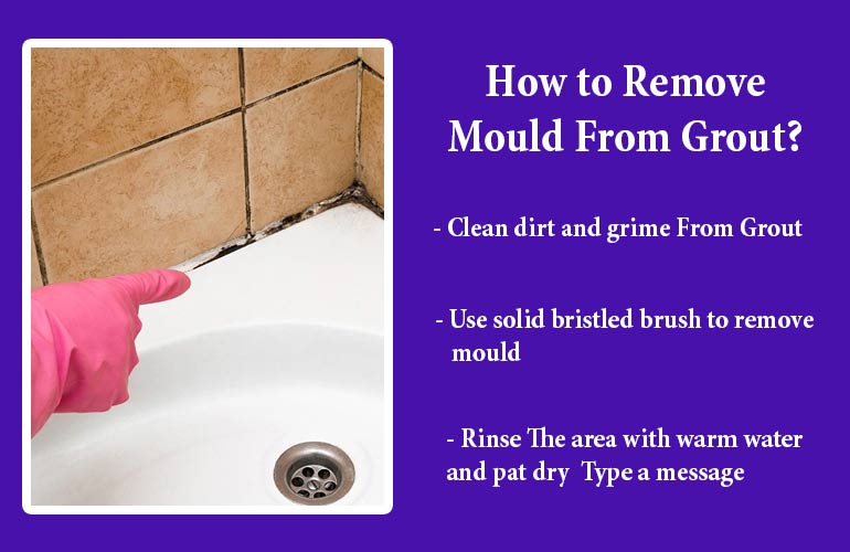 Grout Mould Removal